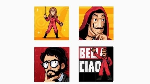 How to download Money Heist stickers on WhatsApp