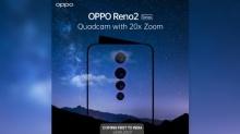 28 अगस्त को लॉन्च होगा 20X जूम वाला स्मार्टफोन Oppo Reno 2