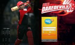 मिग33 में दिल्ली डेयरडेविल्स के खिलाडि़यों से करें चैटिंग