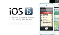 आईफोन, आईपॉड और आईपैड में कैसे इंस्टॉल करें आईओएस 6