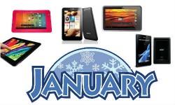 जनवरी 2013 में लांच हुए टैबलेटों पर एक नजर