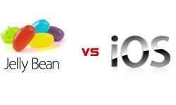 आईओएस 6 और एंड्रायड 4.1 जैलीबीन ओएस में क्या अंतर है