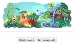 गूगल डूडल के साथ आप भी मनाईए अर्थ डे