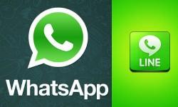 लाइन मैसेंजर और व्हॉट एप्प में कौन सी चैटिंग एप्लीकेशन ज्यादा अच्छी है?