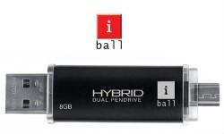 आईबॉल ने लांच की ड्युल कनेक्टिंग हाईब्रिड पेन ड्राइव