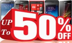 50 प्रतिशत तक की छूट पाइए इन स्मार्टफोनों पर