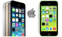 एप्पल ने लांच किया 6,299 रुपए में आईफोन 5सी के साथ 5एस स्मार्टफोन