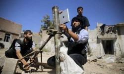 सीरिया में आईपैड से निशाना लगा रहे हैं विद्रोही