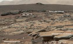 मंगल ग्रह पर मिले पुरानी झील के सबूत