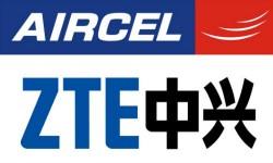 एयरसेल ने जेडटीई के साथ की साझेदारी
