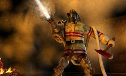 आग पर चलेगा रोबोट!