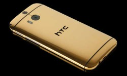 एचटीसी वन, 1 लाख रुपए का गोल्ड प्लेटेड स्मार्टफोन