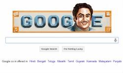गूगल ने डूडल से किया किशोर दा का सम्मान