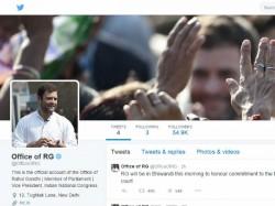 ट्विटर से जुड़े राहुल गांधी