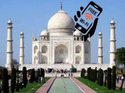 ताजमहल देखने वाले पर्यटकों को मिलेगा फ्री वाईफाई