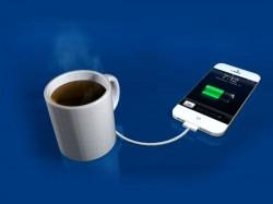 यह कॉफ़ी मग चार्ज करेगा आपके गैजेट्स..!
