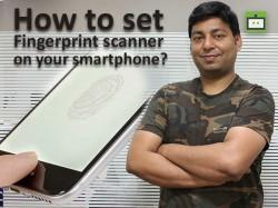 फोन में कैसे सेट करें फिंगरप्रिंट स्कैनर ?