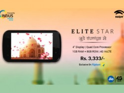 नया 4जी VoLTE स्मार्टफोन, कीमत 3,333 रुपए