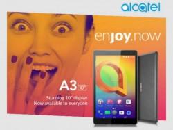 Alcatel A3 10 टैबलेट में है वॉयस कॉलिंग और 2जीबी रैम