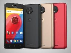 'मोटो सी' बजट स्मार्टफोन भारत में लॉन्च