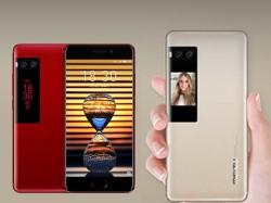 WOW डुअल-डिस्प्ले के साथ Meizu Pro 7 और Meizu Pro 7 Plus लॉन्च