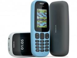 Nokia 105 और Nokia 130 लॉन्च, कीमत 990 रु से शुरू