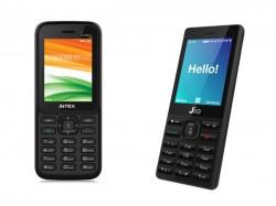 फ्री जियोफोन या इंटेक्स का 700 रु का फोन, जानें किसमें है फायदा