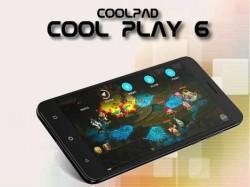 Coolpad कूल प्ले 6 डूअल कैमरे के साथ भारत में लॉन्च