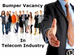 अगले साल तक टेलीकॉम इंडस्ट्री में निकलेंगी 30 लाख नौकरियां