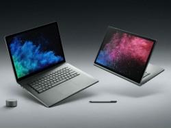 माइक्रोसॉफ्ट सरफेस बुक 2 लॉन्च, डिज़ाइन और फीचर्स सब है अपडेट