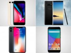 iPhone 8 प्लस से Samsung Galaxy तक, ये हैं टॉप ट्रेंडिंग स्मार्टफोन