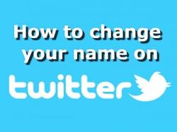 Twitter पर 50 कैरेक्टर्स तक ऐसे चेंज करें यूजर नेम