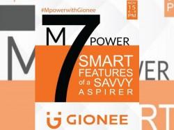 5000mAh बैटरी के साथ 15 नवंबर को लॉन्च होगा Gionee M7 Power