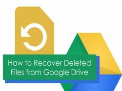 5 Steps : Google Drive पर डिलीट हुई फाइल को ऐसे करें रिकवर