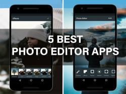 फोटो एडिटिंग के लिए ये हैं बेस्ट 5 फ्री एंड्रायड एप्स