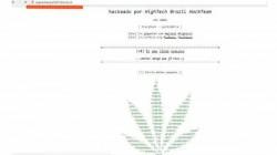 ब्राजील के हैकर्स ने सुप्रीम कोर्ट की वेबसाइट की हैक