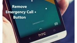 Smartphone से इमरजेंसी कॉल बटन कैसे हटाएं