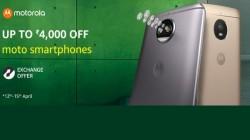 Moto स्मार्टफोन पर 4000 रुपए तक डिस्काउंट