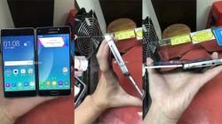 ऐसा होगा Samsung का पहला फोल्डेबल स्मार्टफोन, लीक हुईं तस्वीरें