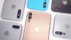 तीन रियर कैमरों के साथ लॉन्च हो सकता है iPhone X plus