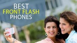 बेस्ट फ्रंट फ्लैश वाले एंड्रॉयड स्मार्टफोन की लिस्ट