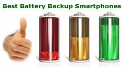 सबसे ज्यादा बैटरी बैकअप वाले सबसे अच्छे स्मार्टफोन की लिस्ट