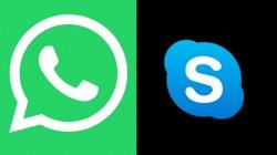 Whatsapp और Skype से जुड़ी एक खास ख़बर