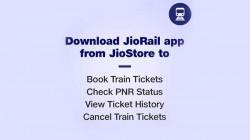 JioRail ऐप की हुई शुरुआत, जियो फोन वाले आसानी से कर पाएंगे टिकट बुकिंग