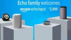 अमेजन इंडिया ने भारत में लॉन्च किया Alexa-powered 'Echo Input, जानें खासियत