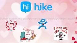 Hike ने अपने यूजर्स के लिए पेश किया नया Valentine Stickers