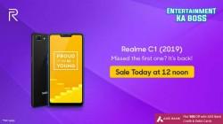 Realme C1 (2019): फ्लिपकार्ट पर दूसरी फ्लैश सेल आज दोपहर 12 बजे से होगी शुरू