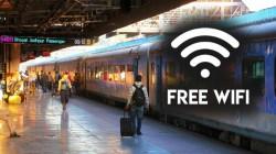 1000 रेलवे स्टेशनों पर बना फ्री वाई-फाई जोन
