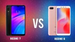 Redmi 6 vs Redmi 7: जानिए इन दोनों स्मार्टफोन का अंतर