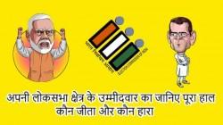 अपनी लोकसभा क्षेत्र के उम्मीदवार का जानिए पूरा हाल, कौन जीता और कौन हारा